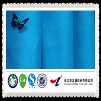 cheap blue polyester cotton reflector fluorescent fabric