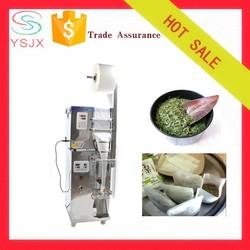 Automatic three side sealing sachet tea packing machine