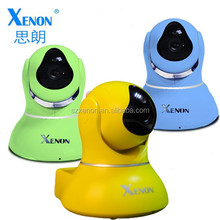 Factory Supply indoor IP Housing Camera memory card support pan/tilt WiFi IP camera Housing