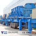 los líderes chinos móvil de trituración de la planta del fabricante