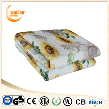 Double Face Washable Electric Blanket Bed Sheet for sale