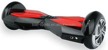36v, 4400mah, 350w 6.5 inch color turning LED light 2 wheel self balancing hover board