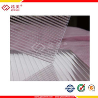 cheap polycarbonate sheets clear hollow sheet
