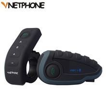 New 5 riders full-duplex bluetooth wireless waterproof phone walkie talkie