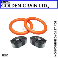 Indoor equipment cheap plastic gym rings