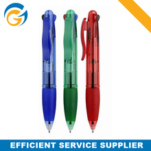 4 color printed coforful ball pens to school