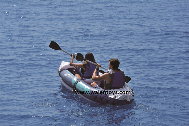 Intex kayak bateau de p che gonflable kayak monoplace bateaux d 39 aviron - Bateau gonflable mer ...