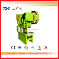 "INT'L ""SLMT"" Eccentric Punch Presses , 10 Ton Punch Press Machine , Open-type Tilting Machine"