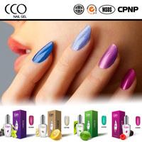CCO Eden organic fruit gel nail polish Soak Off gel polish