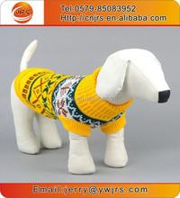 Multi-color fashion jacquard dog christmas clothes / pet sweater