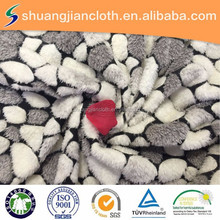 100% polyester factory coral fleece fabric for quilt cover/slipcover