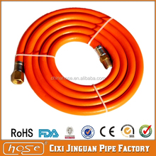 "PVC Hose Pipe, 3/8"" Flexible Fuel Natural Gas Pipe, Gas Pressure Hose with CE certificate"