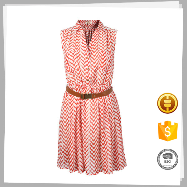 أسلوب جديد لينة تجار الملابس اللون الوردي أنماط اللباس الخصر السامي