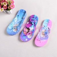 fashion 2015 summer sandals frozen elsa anna slipper shoes for children new