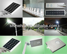 solar street light all in one 12w PIR sensor human infrared ,long working time,long sevice time