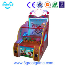 Hot sale coin operated children basketball sports games