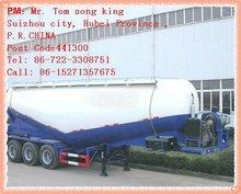 Dta 2/3 eixo massa cimento semi reboque semi reboque para granel cimento tanque transporte semi reboque, ( 42-60m3 ) - tipo V