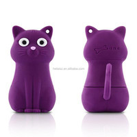 Promotion Gift USB Flash Drive cartoon animal cat shaped Pendrive Memory Stick mini pen Drive