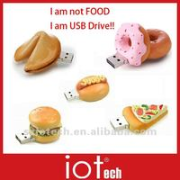 Food Shape USB Flash Drive, 2GB 4GB 8GB Available,