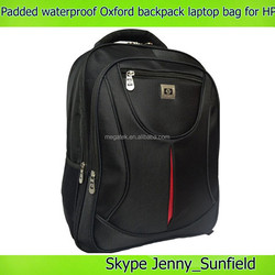 15 inch computer bag Multi function Padded waterproof Oxford backpack laptop bag for HP , for hp laptop bag