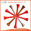 Wooden golf product/golf tees
