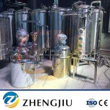Hot sale distiller from 100L-2500L in USA for whisky vodka rum