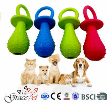 [Grace Pet] Natural Rubber Toys For Puppy, Rubber Dog Toy Balls, Pet Toys