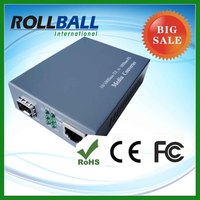 10g catv 10/100m media fiber optic converter