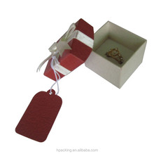 Fancy Custom Made Paper Box With Ribbon Paper Box With Brand Logo Card