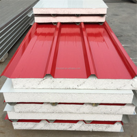EPS sandwich panels/ color metal building material/roofing sandwich panels china