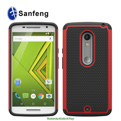 Manufacture Price Durable Hard Shells For Motorola Moto X Play Cell Phone Cases