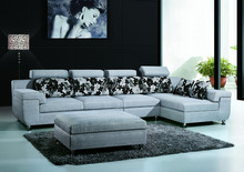 FOSHAN 3015 different color hot popular 2014 fabric corner sofa