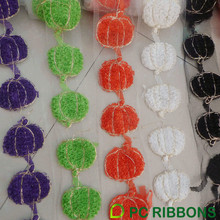Cute Halloween pumpkins trims decoration ribbon