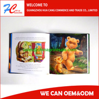 High Quality Full Color Cheap Children Hardcover Book Printing