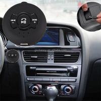 Hot Sale New Black Wireless Car Kit Set Bluetooth 4.0 3.5mm Stereo Handsfree Receiver Adapter Speaker H-366 Universal