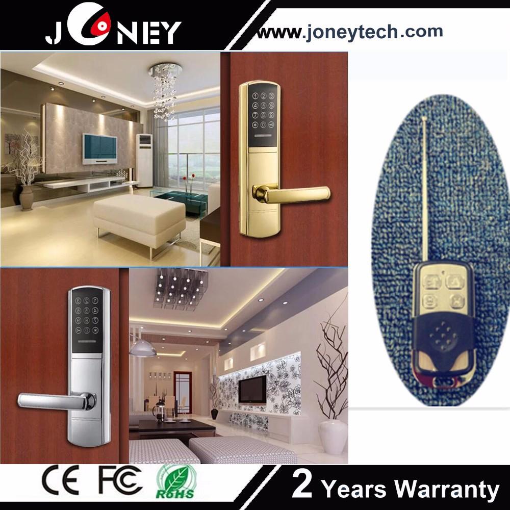 Touch Screen Door Lock Fingerprint Door Bell Lock With Anti Theft