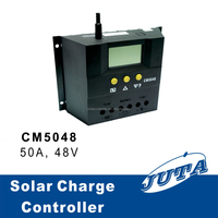 50a12v/24v with ce rohs pwm and LCD solar charger controller 48v 35a charger