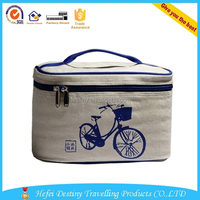 bicycle picture waterproof printing warm food lunch box