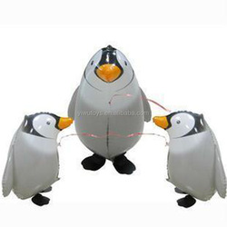 kids toys walking pet penguin balloon