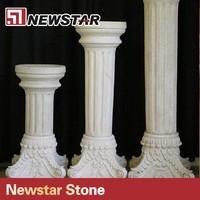 natural marble column and stone roman column