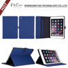 alibaba factory sale book style flip folio pu leather case for ipad mini 4