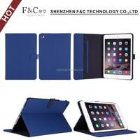 alibaba factory sale book style flip folio pu leather case for ipad mini 4