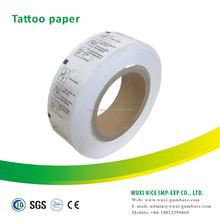 Alta calidad del tatuaje material de la etiqueta engomada