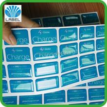2015 Most Popular cheap custom epoxy resin self adhesive dome sticker