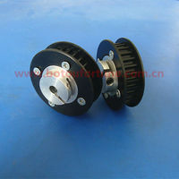 48 teeth 15mm width HTD5M nylon timing belt pulleys plastic small part