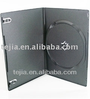 PP 7mm single black dvd cases with good locked