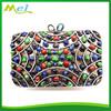 diamante metal hard case skull bag wholesale