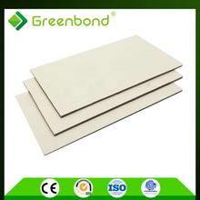 Greenbond pvdf waterproof density of construction material acp