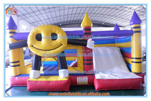 Factory price funny inflatable cartoon castle for kids,inflatable castle combo,inflatable bouncer house with slide for sale