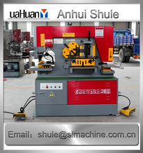 Specializing in the production of Q35Y hydraulic ironworker machine Export to Europe